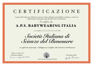 Babywearing_Certificazione