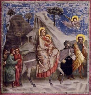 Giotto di Bondone (c.1266-1337), Cappella degli Scrovegni, affresco, 1305.