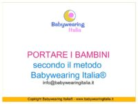 pillole di babywearing